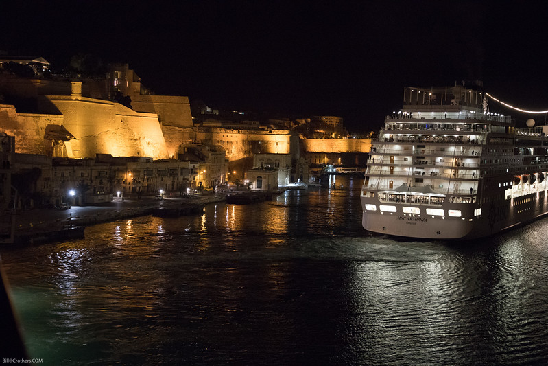 Valletta, Malta harbor