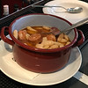 Tapas at Llamber restaurant in Barcelona, Cassoulet