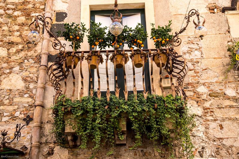 Castelmola window
