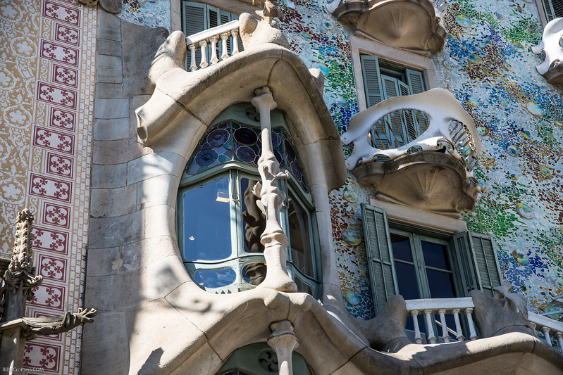 Casa Battlo in Barcelona (Gaudi)