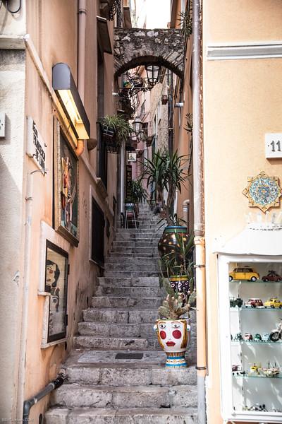 Taormina side street