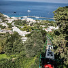 Funicular between harbor and Capri town