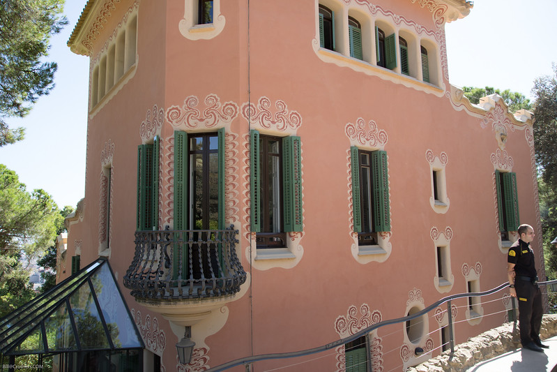 Gaudi's house in Park Guell