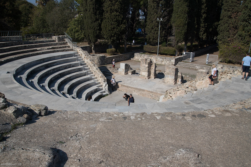 Small ampitheater in Rhodes