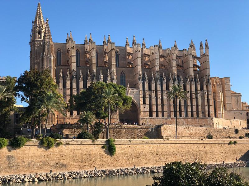 Cathedral in Palma, Mallorca