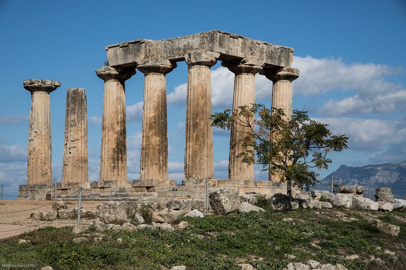 Ancient Corinth, Temple of Apollo