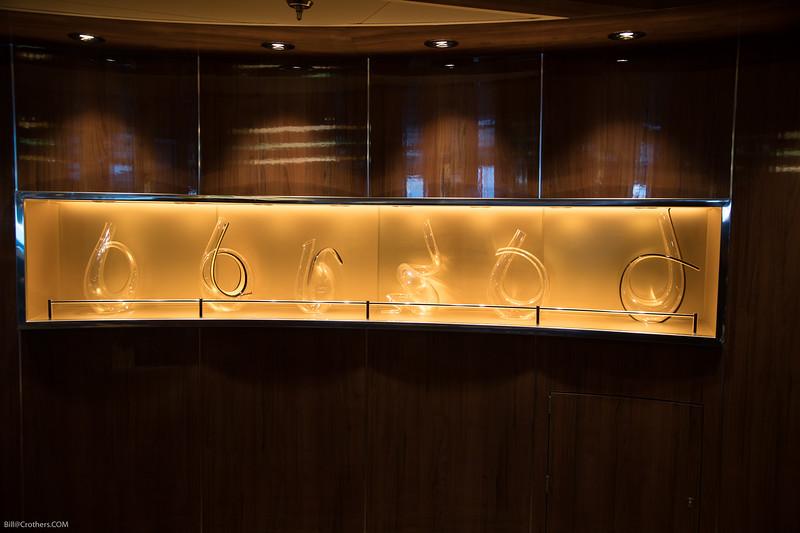 glass artwork on Ovation
