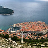 Dubrovnik from upper cable car platform