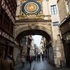 Rouen (le Gros Horloge)