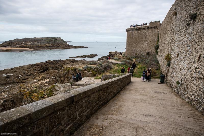 St. Malo, castle