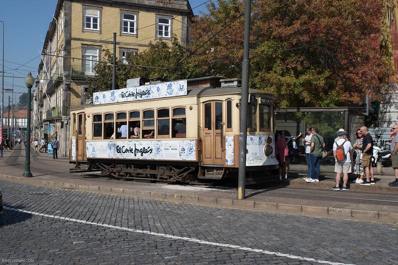 Lisbon, typical streetcar