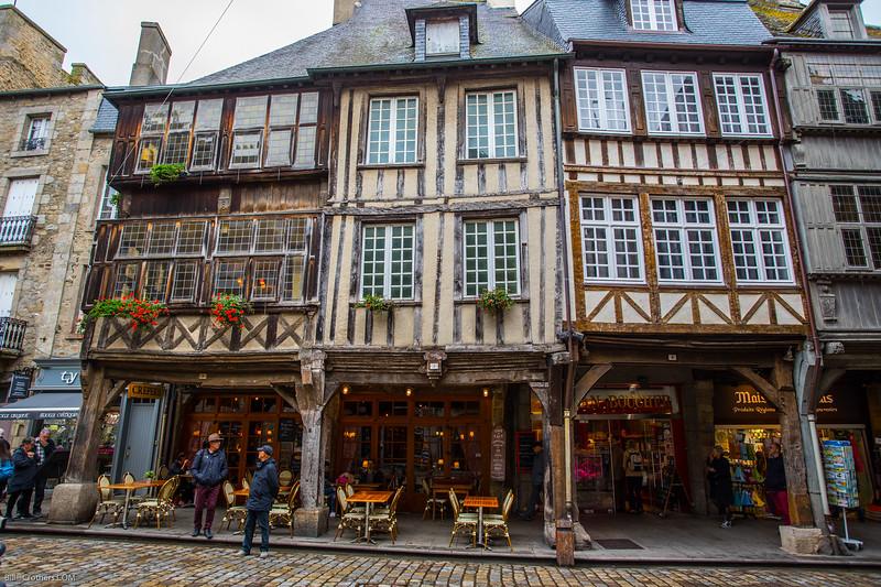 Dinan near St. Malo, France