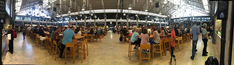 Time Out food market. Lisbon
