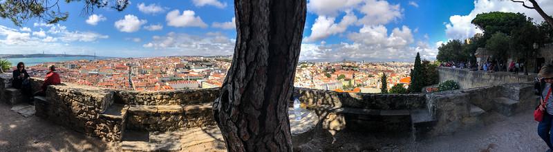 St. George Castle view