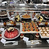 Seabourn Ovation galley buffet lunch
