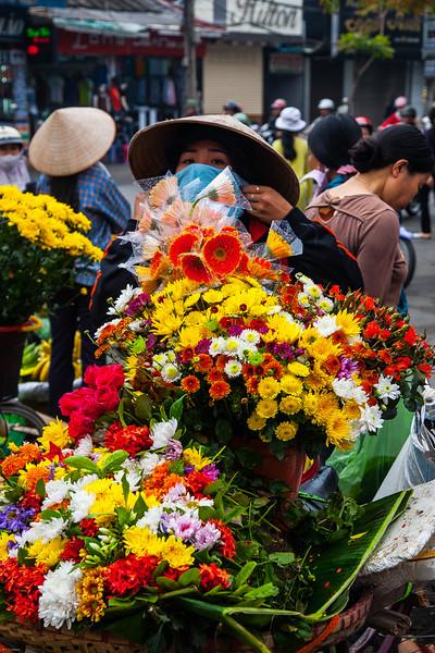 market in Haiphong, Vietnam