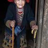 87 year old Red Dao lady, Sapa Vietnam