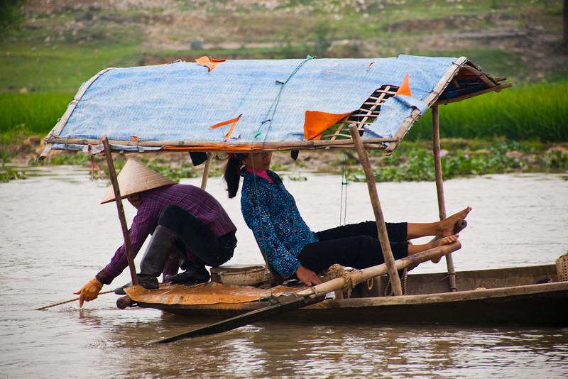 Dragon River near Ninn Binh