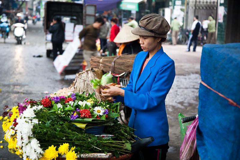 market in Haiphong