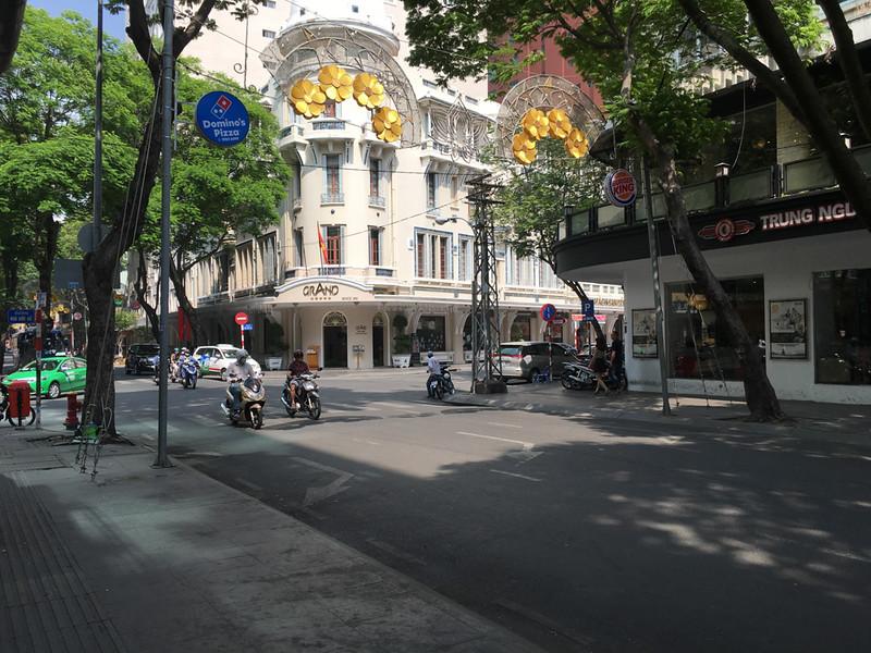 the Grand Hotel Saigon (early colonial)