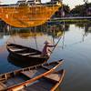 fishing nets in Hoi An