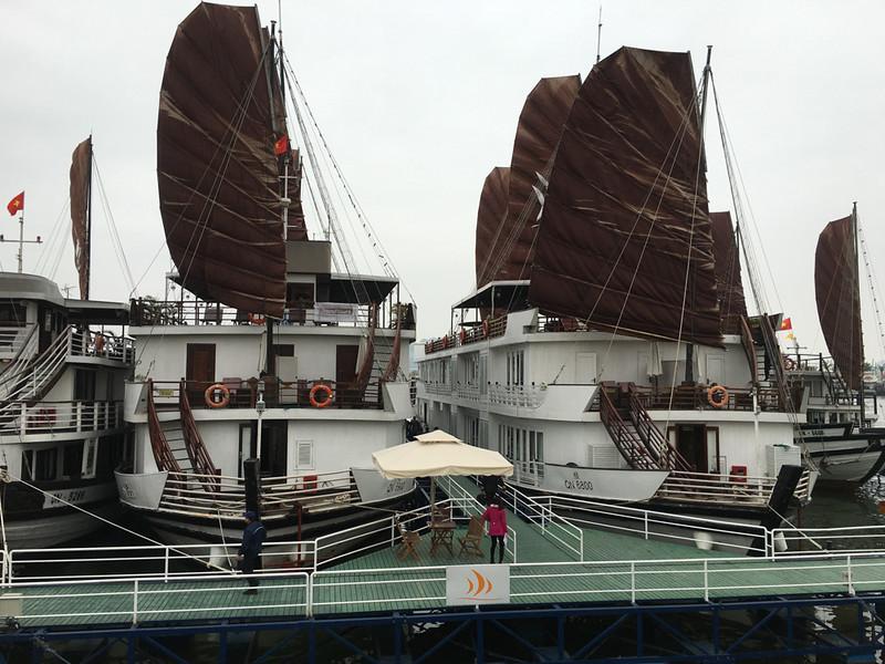 Halong Bay - Pelican cruise boats