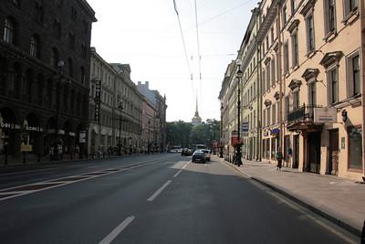 2010 - Nevsky Avenue - St Petersburg