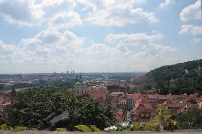 2009 - Praha from Prazsky hrad