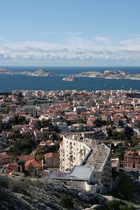 2009 - Marseille - Chateau d'If from Notre Dame de la Garde
