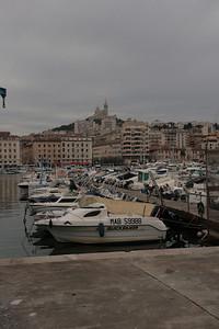 2009 - Marseille - Notre Dame de la Garde from Vieux - Port
