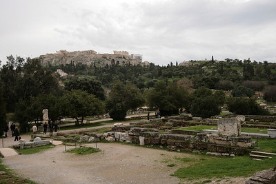 2009 - Athens - Acropolis from the Agora