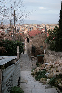 2009 - Athens - Walk to Acropolis