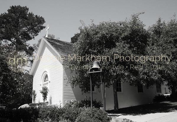 Santa Rosa Chapel 3 b:w