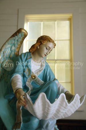 Angel at Santa Rosa Church
