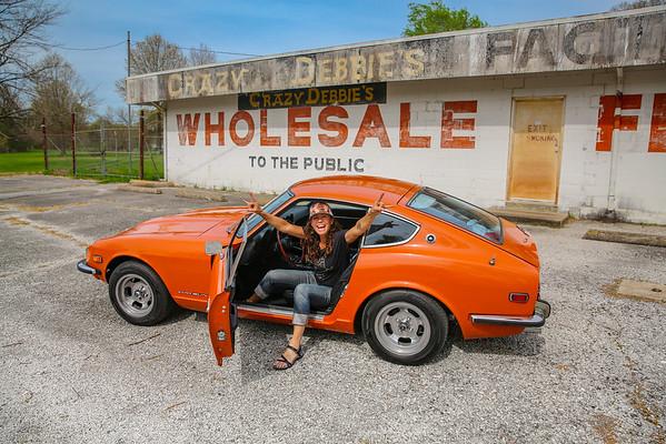 4-16-19 St Louis drive Datsun in OK-Crazy Debbie's