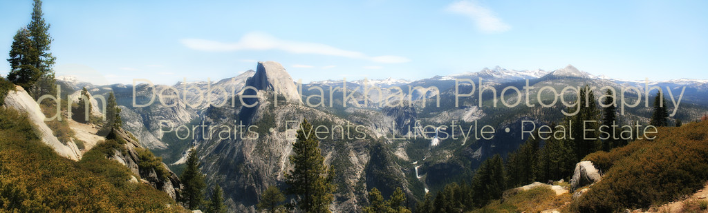 Glacier Point Panoramic, Yosemite National Park