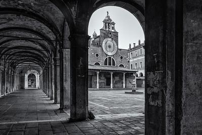 Campo San Giacomo di Rialto, Venice, Italy