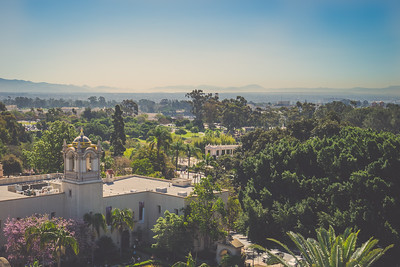 View From California Tower | Balboa Park | San Diego, California | The 2015 Sony Alpha Experience