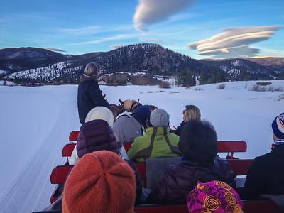iPhone Pic | Breckenridge Stables Dinner Sleigh Ride | Breckenridge, Colorado