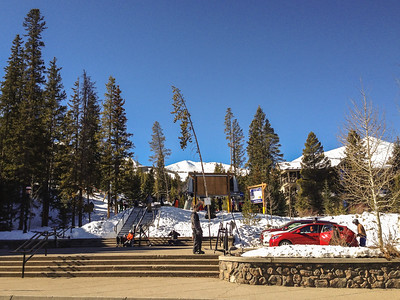 Snowflake Lift | iPhone Pics | Breckenridge, Colorado