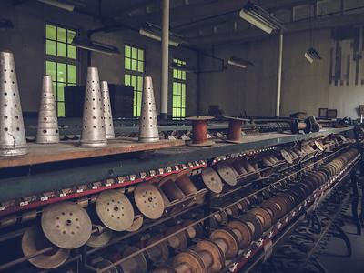 iPhone6Plus Photo // Abandoned Klotz Throwing Mill // Lonaconing, Maryland // June 2016