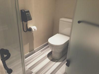 Trump Soho // Bathroom // iPhone5 Photo // 2013
