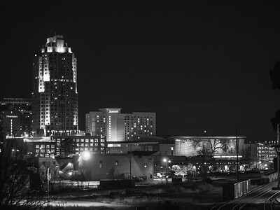 View From Boylan Bridge | Raleigh, North Carolina