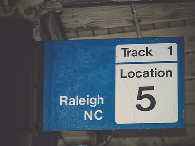 Amtrak Train Station | Downtown Raleigh, North Carolina