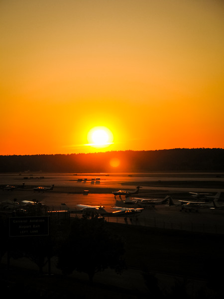 RDU Airport Observation Area
