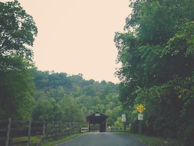 The Claycomb Covered Bridge | iPhone5 Photo | 2014