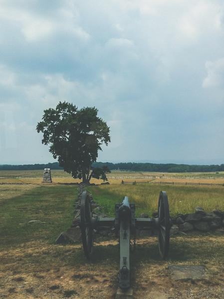 2011 Gettysburg Monuments | iPhone4 Photo
