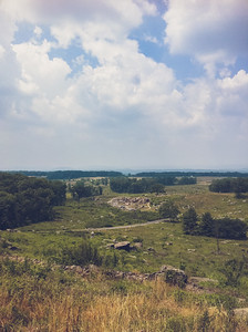 Gettysburg, PA | 2011 | Little Round Top | iPhone4 photo