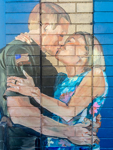 iPhone Photo   Mural Art   Millvale   Pittsburgh, Pennsylvania