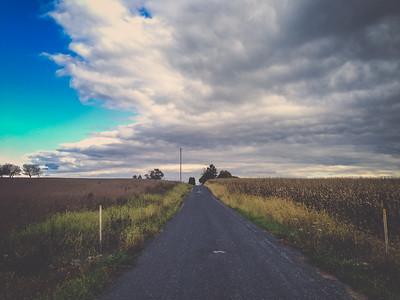 iPhone5 photo // Latimore Creek Road // York Springs, PA // 2014